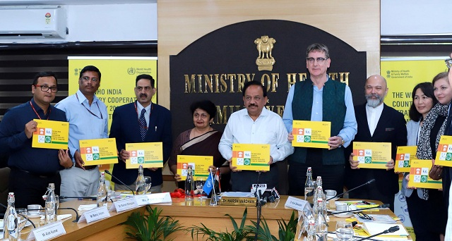 Dr. Harsh Vardhan launches WHO IndiaCountry Cooperation Strategy 2019–2023