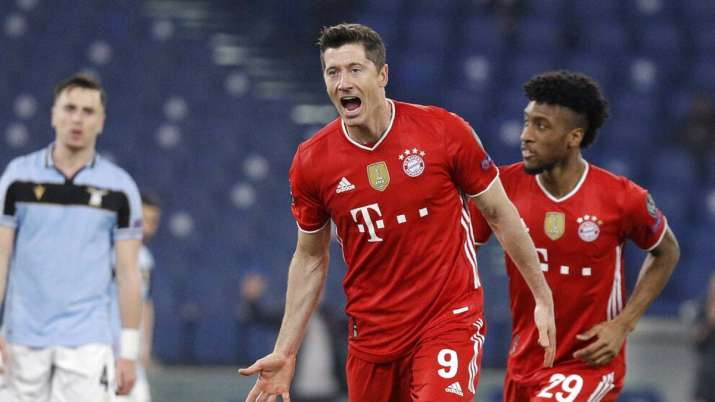 Champions League: Bayern Munich put four past Lazio in first leg of round-of-16 tie