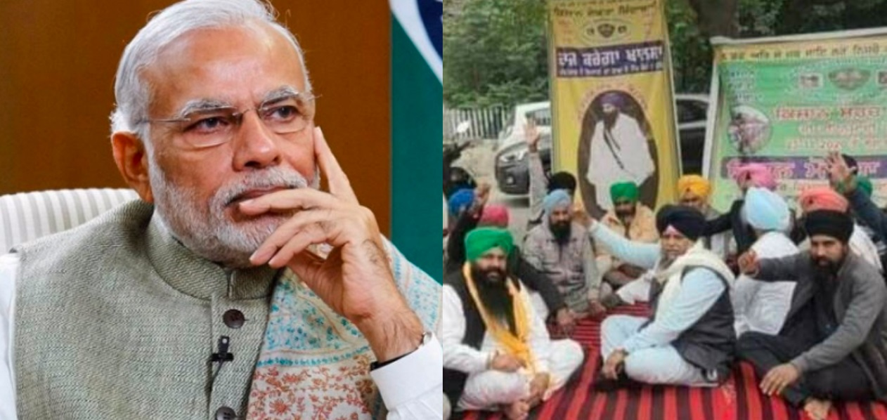 Khalistanis are planning to execute a kisan leader so as to create unrest in Punjab and blame PM Modi for it