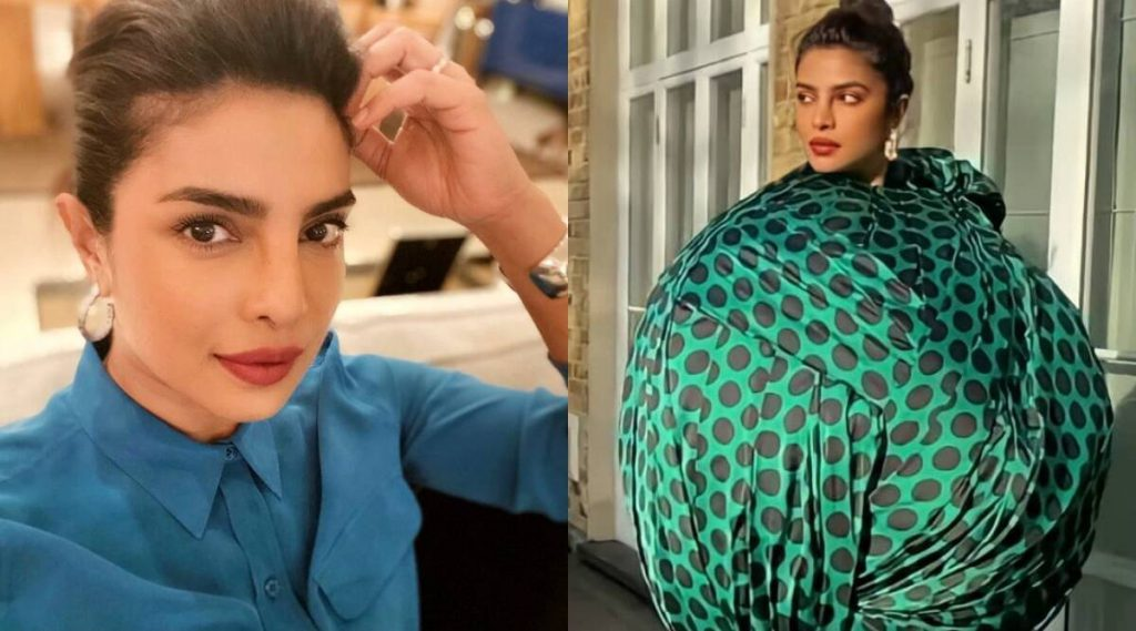 Priyanka Chopra reacts as user says why wear a dress that doesn't show off her 'good figure': 'Figure does not matter'
