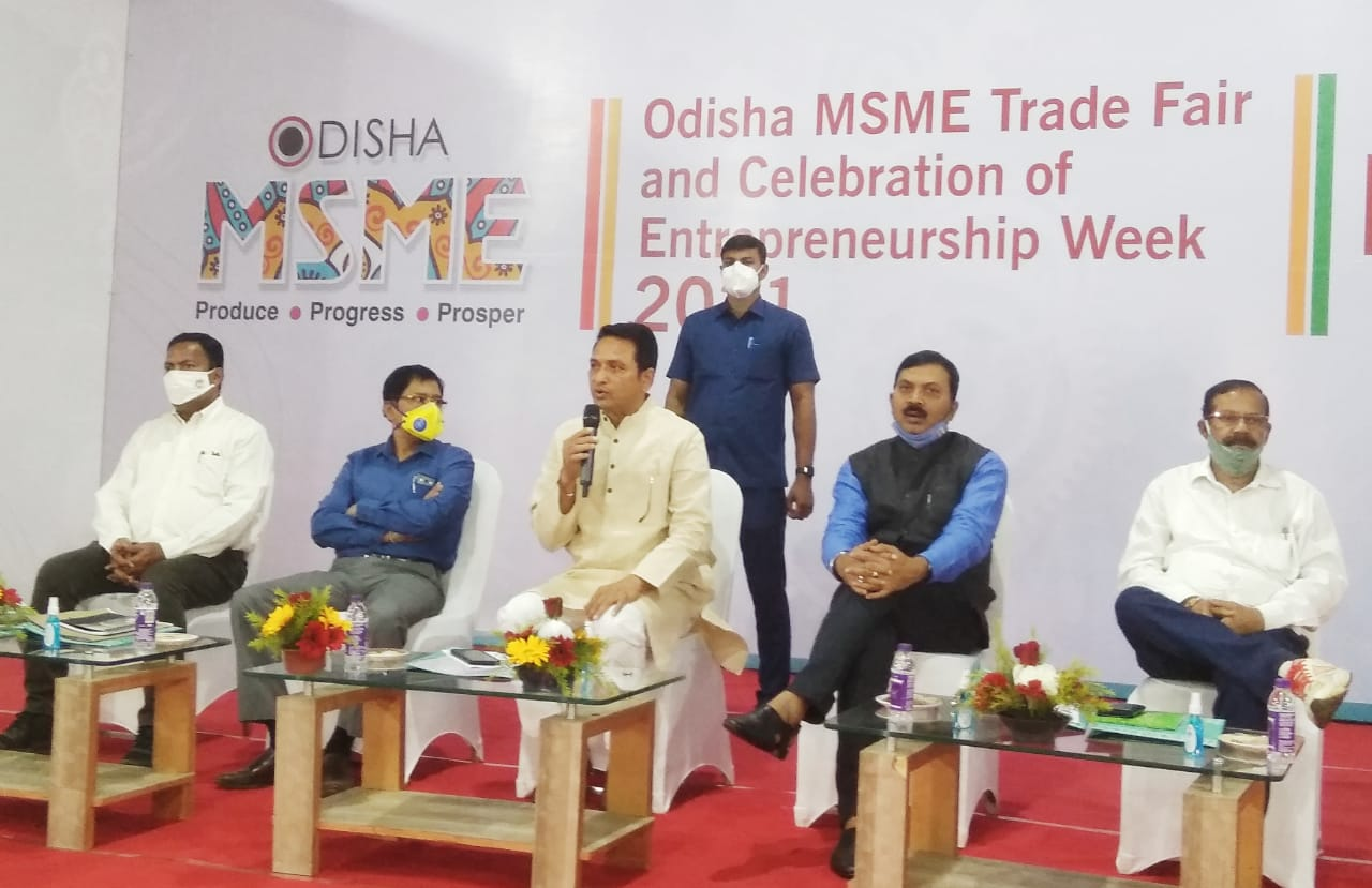 MSME Trade Fair 2021 to be held from March 5 to March 9 in Bhubaneswar