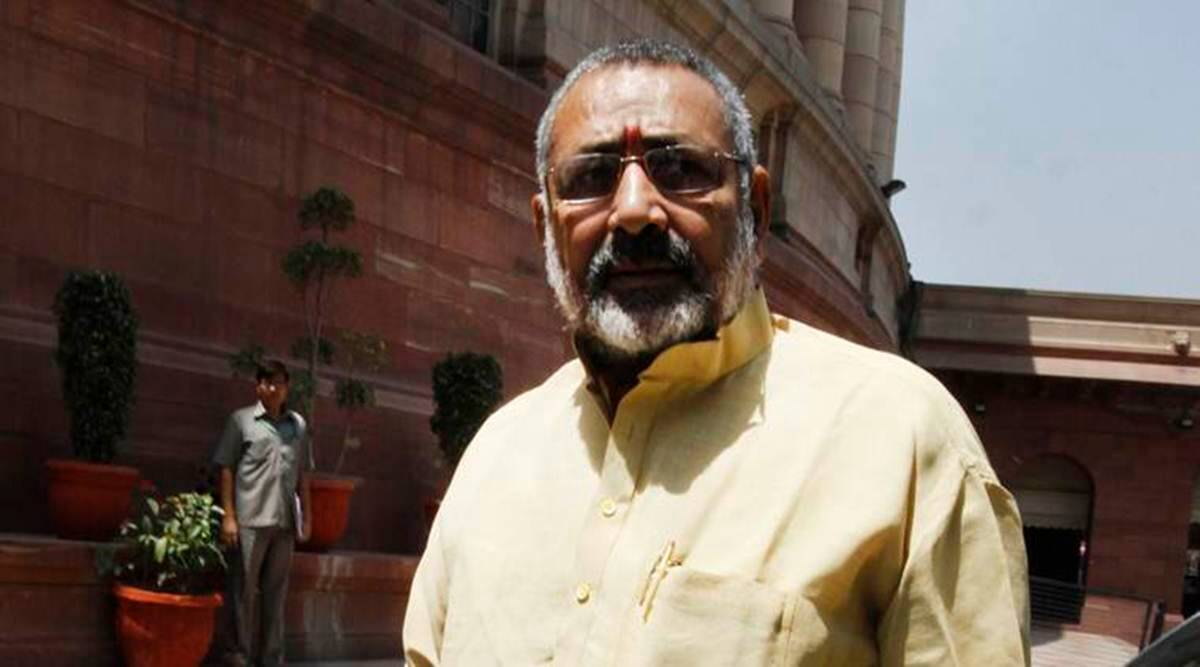 Officials don't take heed to you? Beat them up with sticks: Giriraj to Begusarai residents