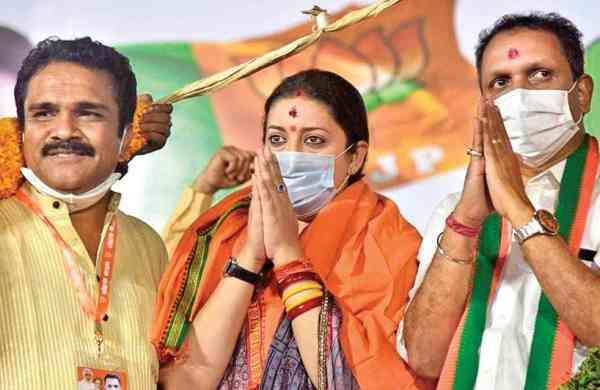 Rahul Gandhi can do nothing for Congress in Kerala: Smriti Irani