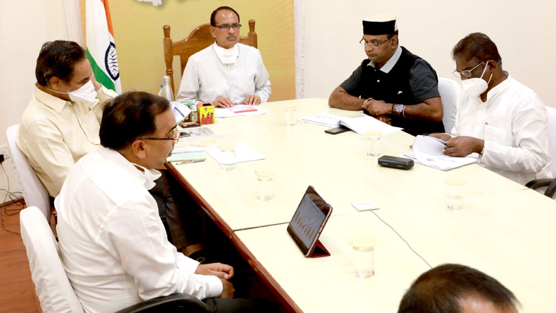 Special precautions should be taken in Bhopal, Indore: Chief Minister Shri Chouhan