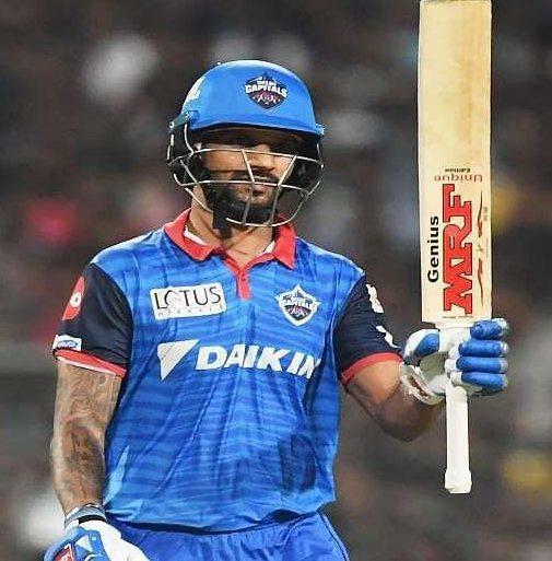 Sikhar Dhawan, IPL 2020